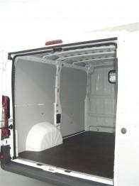 Laadruimte betimmering H1, kunststof 5 mm. lichtgrijs