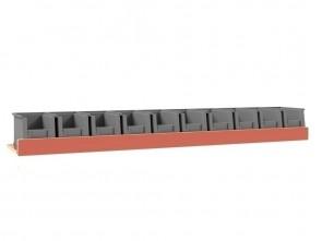Set kunststof bakken voor Pro Wood kast type 1 legbord L=1520 mm.