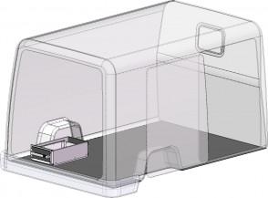 één ladeblok, BEKS verhoogde vloersysteem, H= 200 mm., Br= 300 mm.