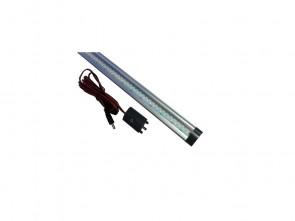 Aluminium led-lamp L= 300 mm.