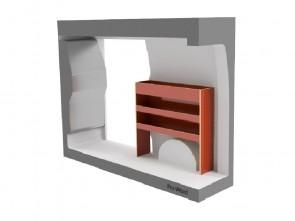 Pro-Wood Bedrijfswageninrichting type PW-C bouwpakket