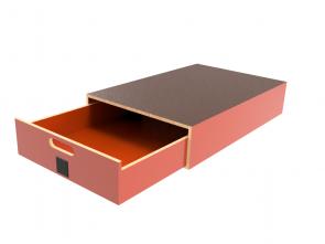 Pro-Wood multiplex verhoogde vloersysteem PWVV-L18