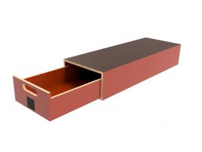 Pro-Wood multiplex verhoogde vloersysteem PWVV-L1