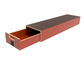Pro-Wood multiplex verhoogde vloersysteem PWVV-L3