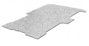 Laadvloer, multiplex, kleur grijs