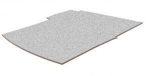 Laadvloer, multiplex kleur, grijs