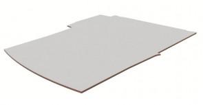 Laadvloer, kunststof, kleur grijs
